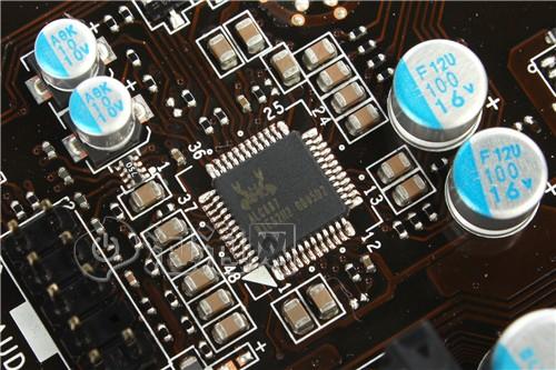 声卡芯片采用了alc 887芯片