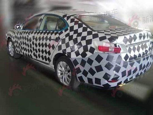 长安cd101是一款全新中型车,是长安cd高端车平台下首款产品,