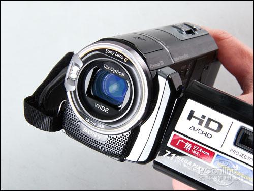 索尼HDR PJ30E镜头细节