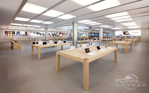 苹果商店下载_PP苹谈北上广深苹果旗舰店快要齐活了