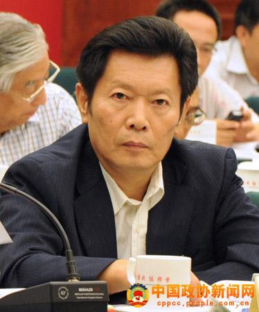 全国政协委员,台盟中央秘书长张宁发言 张海霞