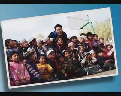 图1孩子们可爱的笑脸