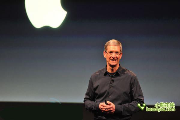 新代iPhone发布会现场直击 库克登台