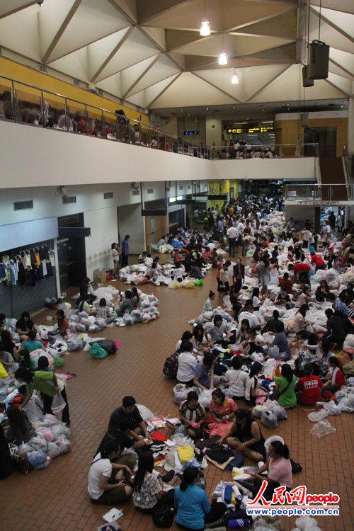 泰国曼谷廊曼机场国内航站楼