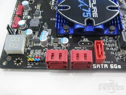 硬盘控制电路板三个主要接口
