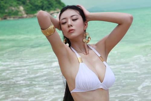 重庆美女被称中国第一黄金比例身材