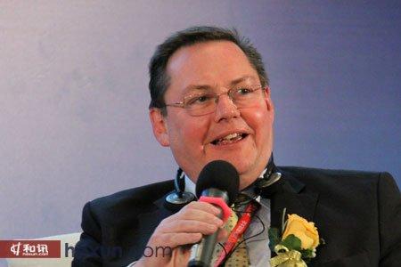 伦敦金融期货交易所全球业务发展总裁Fraser Cowie