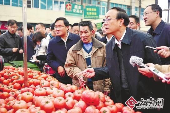 张田欣:昆明主城生鲜超市明年全覆盖-新闻频道