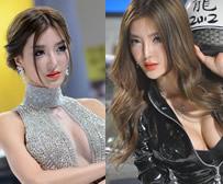 北京车展车模高清组图