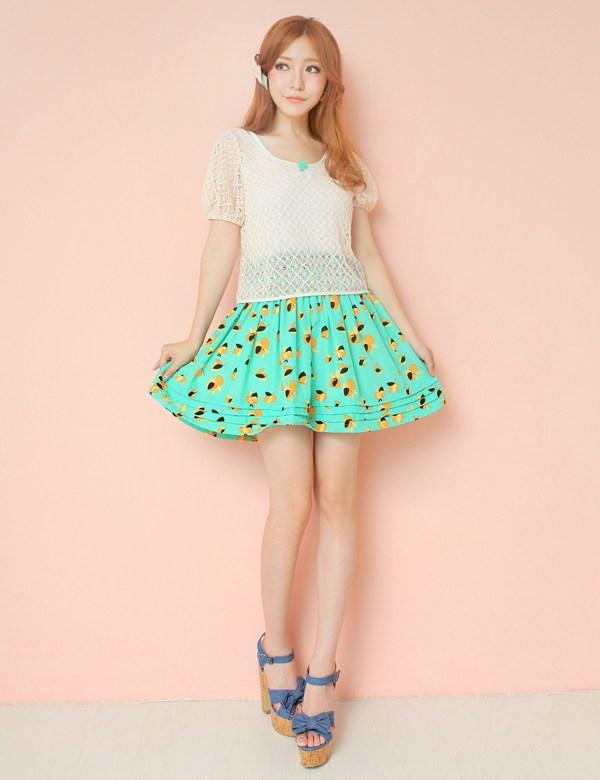 优雅时尚裙子两件套-必备轻薄针织衫 提升好气质