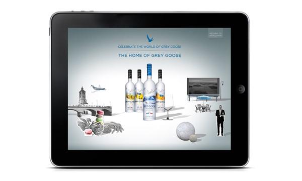 百加得集团推出灰雁和庞贝琴酒iPad apps