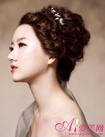 超美韩式新娘发型 婚礼造型风向标
