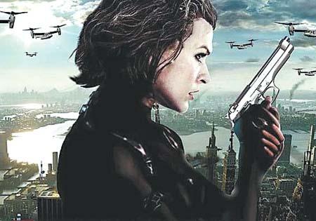 《生化危机5》海报