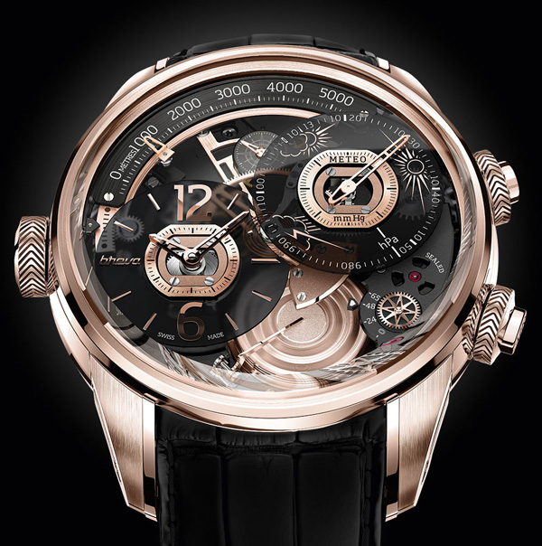 Breva Génie 01 世界首枚高度计及气压计腕表