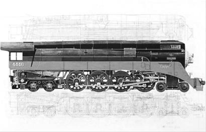 蒸汽火车的连杆结构
