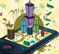 不同用户经常使用手机银行功能分析