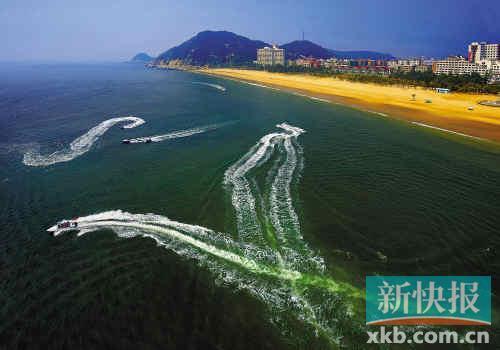 阳江海陵岛海岸风光.(资料图片)
