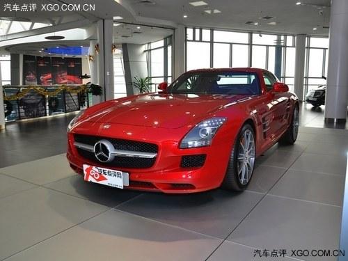 最新款奔驰sls级跑车 疯狂促销直降60万高清图片