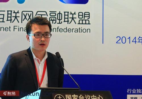 简单理财网创始人兼总经理杨晖