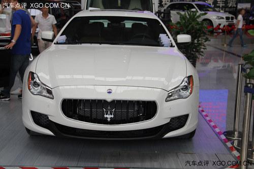 玛莎拉蒂总裁中规 美规版 清新白色现车 高清图片