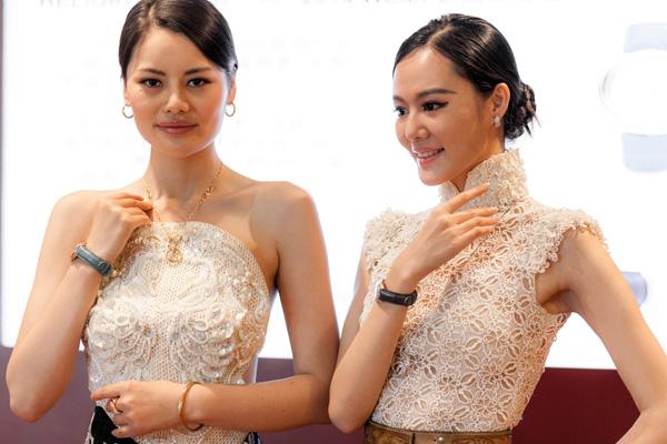 列戒指,品牌之友 中国著名服装设计师劳伦斯 许欣然前来助阵