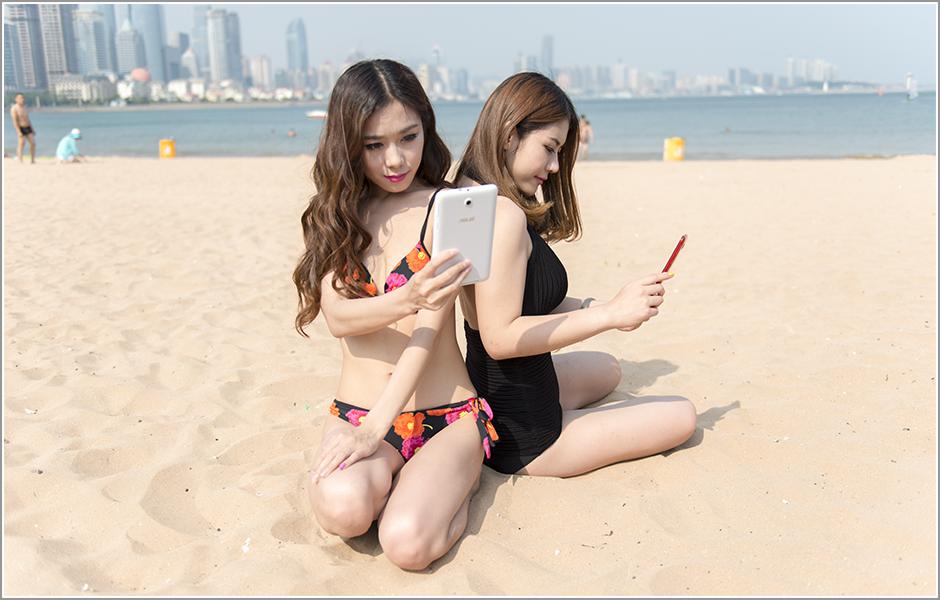 阳光沙滩美女 一大波性感模特外拍图赏