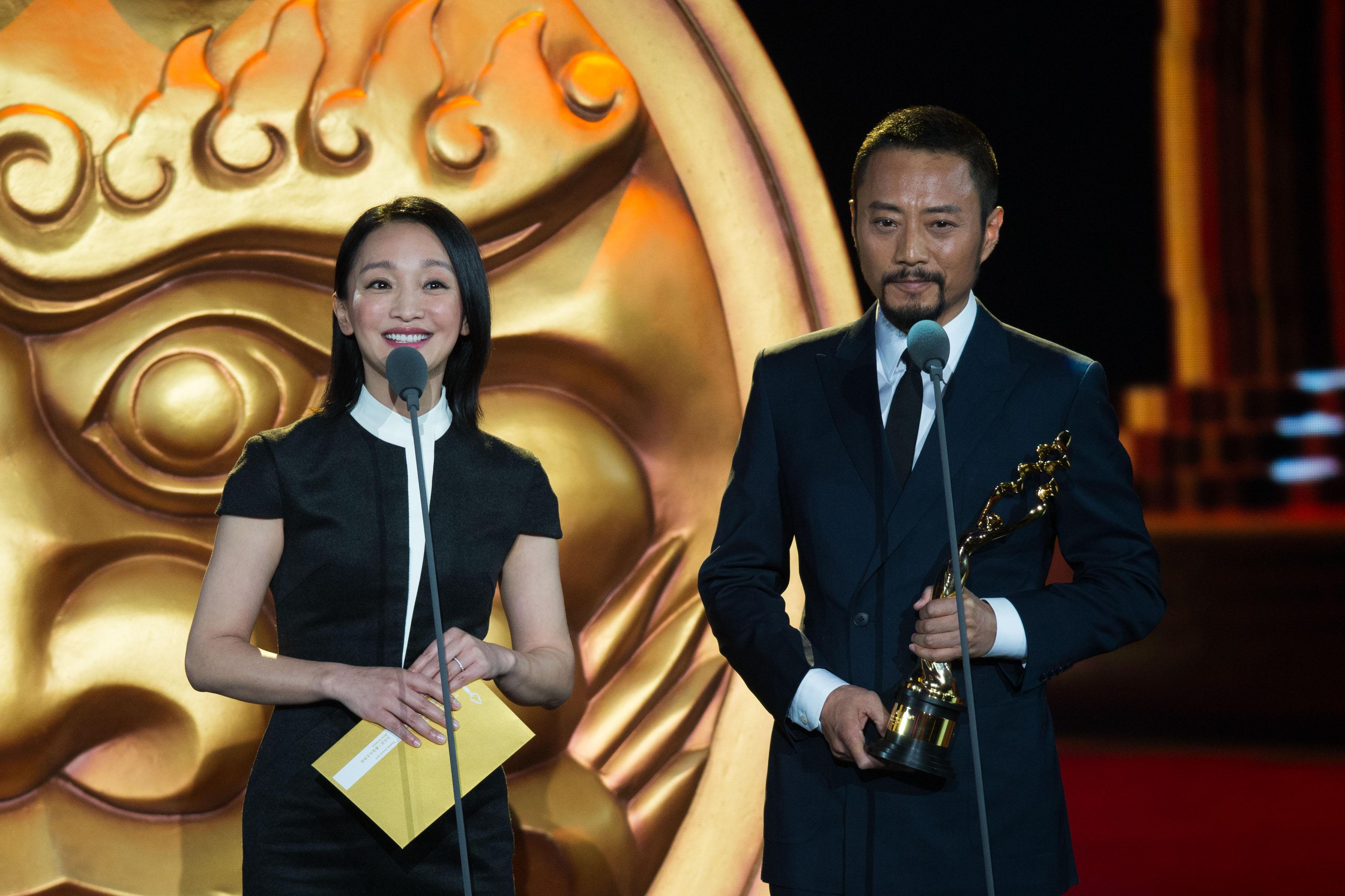 """当日,在第五届北京国际电影节颁奖典礼上,""""天坛奖""""各奖项逐一揭晓.图片"""