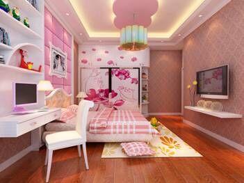 卧室硅藻泥地中海风格装修图片