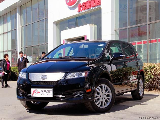 比亚迪e6 比亚迪e6补贴10.8万元 部分现车在售中 高清图片