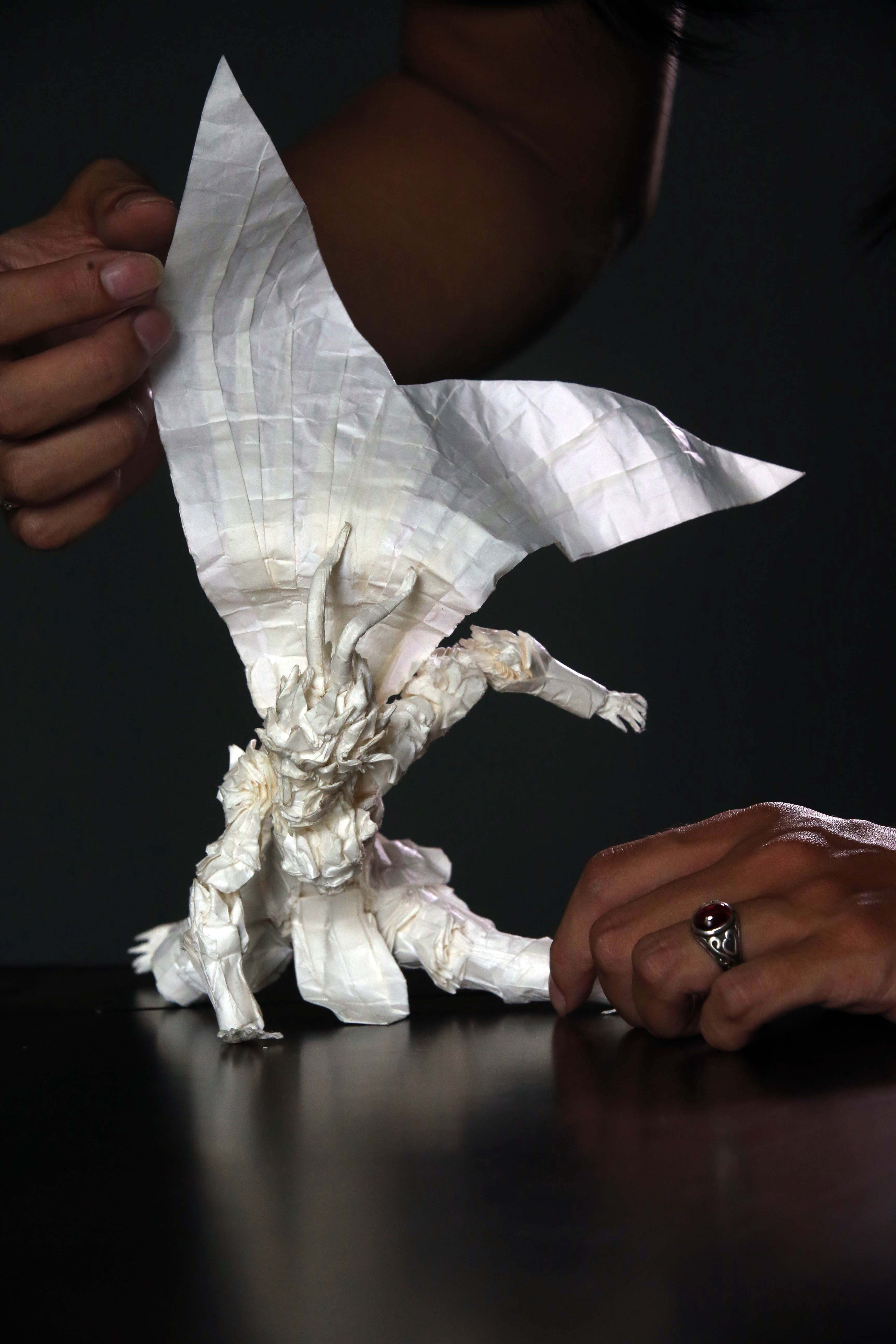 动物叠纸步骤图解