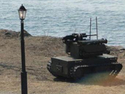 俄战斗机器人在叙利亚参战