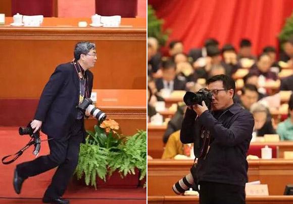 """揭秘国家摄影队:他们就是传说中的""""中央组记者"""""""