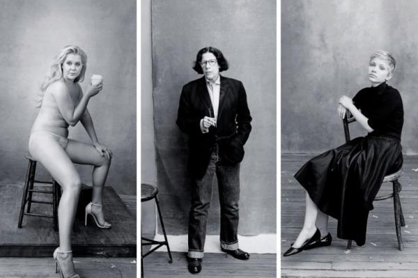 喜剧演员艾米·舒默(12月)、作家弗兰·莱博维茨(5月)、时尚博图片