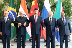 习近平出席金砖国家领导人会议